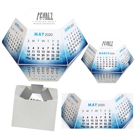 Promotional Azure Annual Pop-Up Calendar