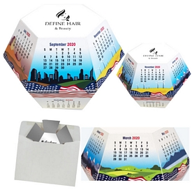 Promotional Carnival Annual Pop-Up Calendar
