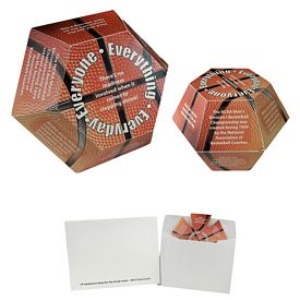 Customized Basketball Annual Pop-Up Calendar