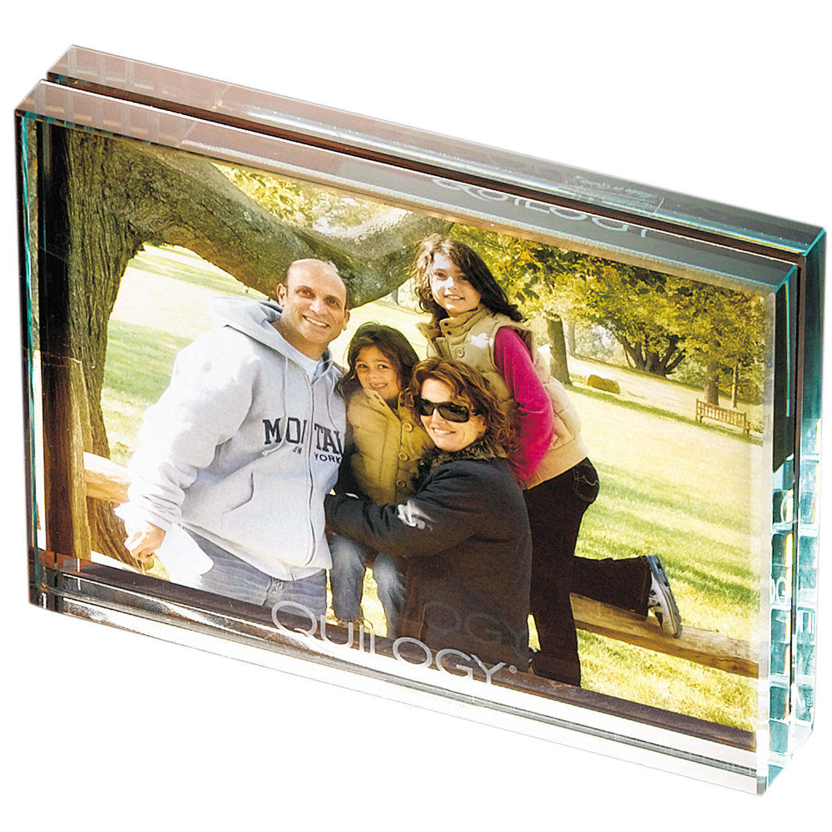 Promotional Leeman Atrium Glass Medium Desk Photo Frame | Customized ...