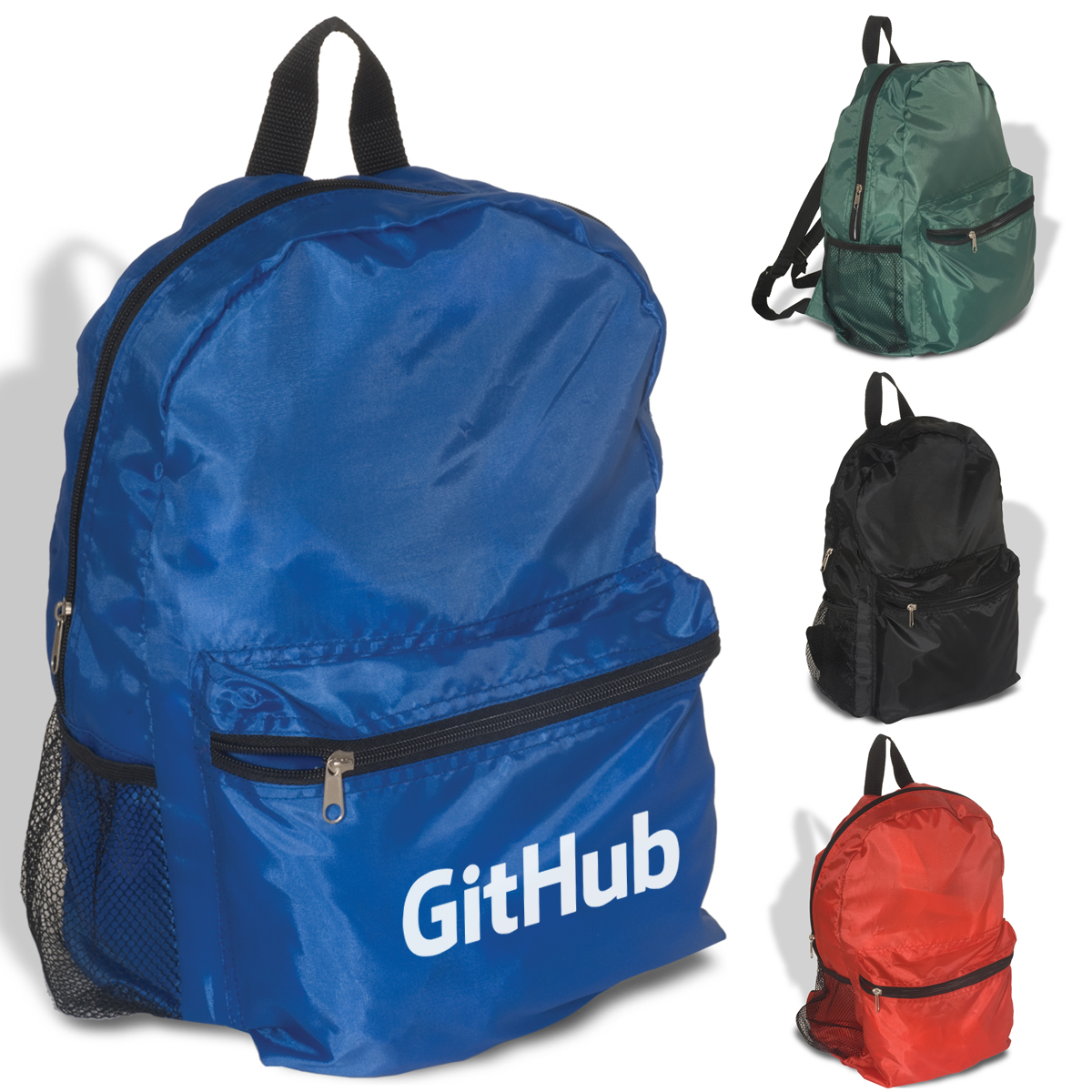 Promotional Econo Polyester Backpack  32e9a118d756e