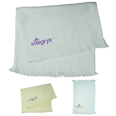 Promotional Velour Natural Colored Sport Towel