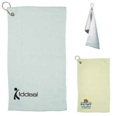 Customized Fingertip Natural Colored Towel