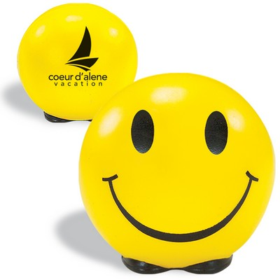 Promotional Friendly Face Stress Reliever