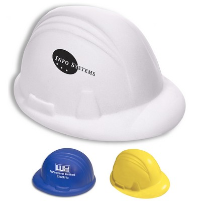Promotional Hard Hat Shaped Stress Reliever