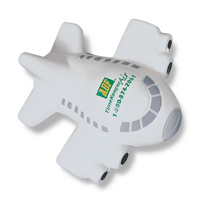 Promotional Airplane Shaped Stress Reliever
