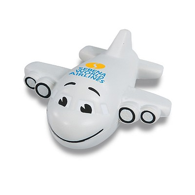 Customized Smiley Plane Stress Reliever