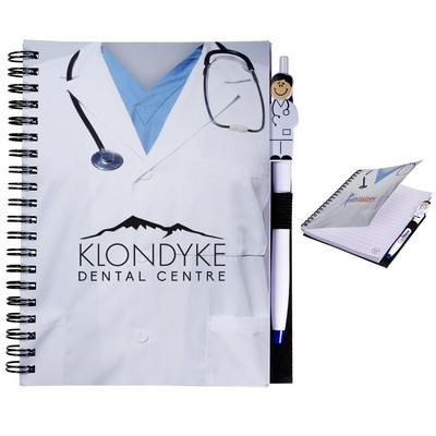 Customized Doctor Notebook Pen Combo