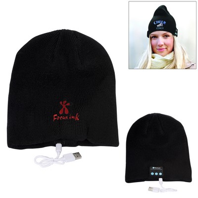 Promotional Bluetooth Knit Beanie