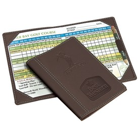 Customized Leeman Woodbury Golf Scorecard Holder