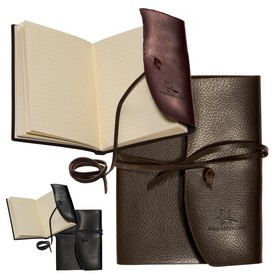 Custom Leeman Americana Leather-Wrapped Journal