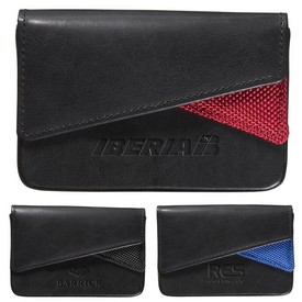 Custom Leeman Fairview Business Card Case