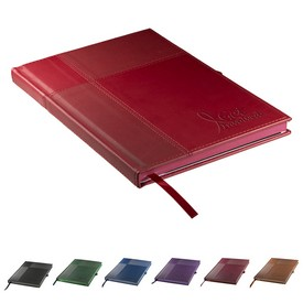Promotional Leeman Tuscany Duo-Textured Journal