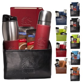 Promotional Tuscany Thermal Bottle Tumbler Journal Ghirardelli Gift Set