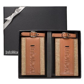 Promotional Sierra Luggage Tags Gift Set