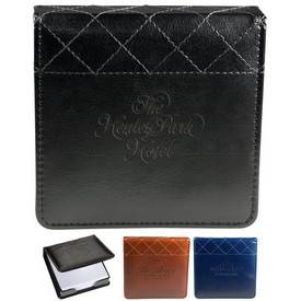 Promotional Venezia Quilted Edge Memo Pad Set
