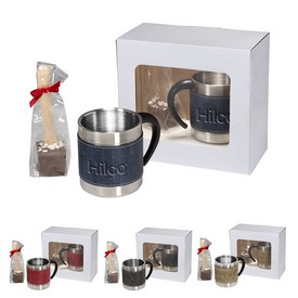 Promotional Casablanca Coffee Cups Hot Chocolate In A Spoon Gift Set