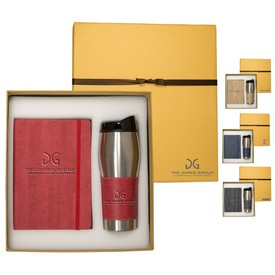 Promotional Casablanca Journal Tumbler Gift Set