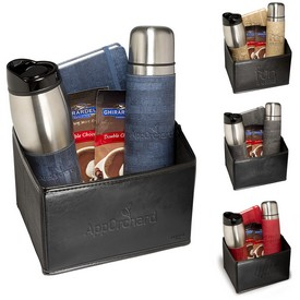 Customized Casablanca Thermal Bottle Tumbler Journal Ghirardelli Gift Set