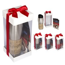 Custom Casablanca Tumbler Ghirardelli Hot Chocoa Gift Set