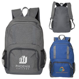 Promotional Strand Simple Snow Canvas Backpack