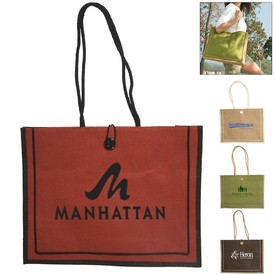 Customized Milan Jute Tote
