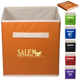 Promotional Folding Non Woven Storage Bin
