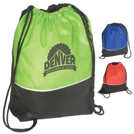 Promotional Non-Woven Textured String Backpack