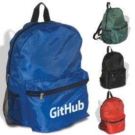 Promotional Econo Polyester Backpack