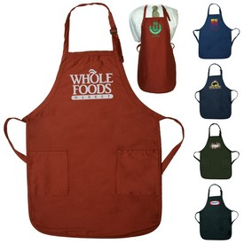 Promotional Gourmet Apron With Pockets