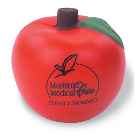 Customized Apple Shaped Stress Reliever