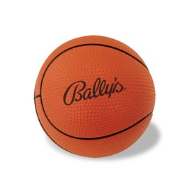 Promotional Basketball Shaped Stress Reliever