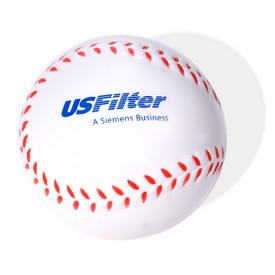 Promotional Baseball Shaped Stress Reliever