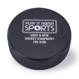 Custom Hockey Puck Stress Reliever
