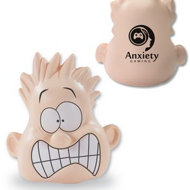 Customized Shocked Mood Dude Stress Reliever
