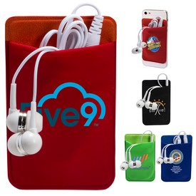 Custom Mobile Device Pocket Earbuds Set