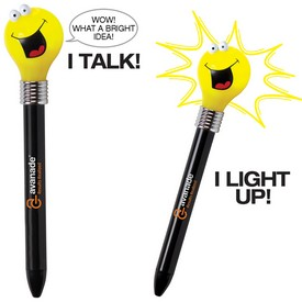 Promotional Goofy Light Bulb Pen