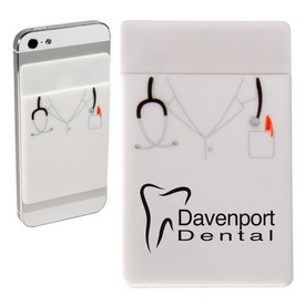 Promotional Doctor Silicone Mobile Device Pocket