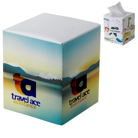 Custom Cube Tissue Box