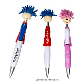 Promotional Moptopper Superhero Pen