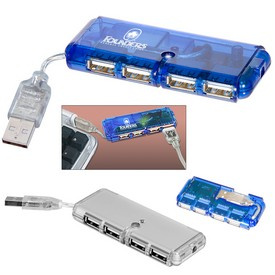 Promotional Mini Usb 4-Port Hub