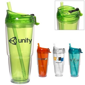 Promotional Two-Way TravelerS 18 Oz Tumbler