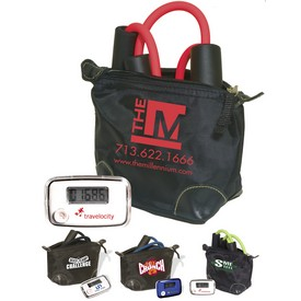 Promotional Exercise Band Pedometer Kit