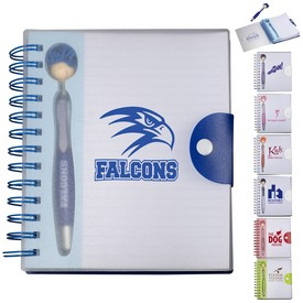 Custom Moptopper Pen Notebook Gift Set