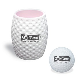 Custom Golf Can Holder Stress Reliever Combo Kit