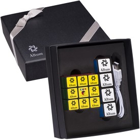 Promotional RubikS Mobile Charger Cube Set