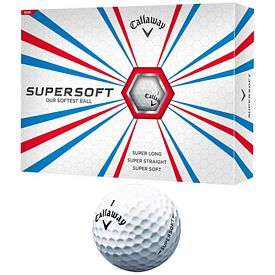 Promotional Callaway Supersoft Golf Balls 12-Pack