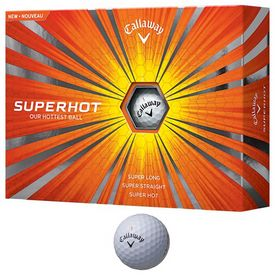 Promotional Callaway Superhot Golf Balls 12-Pack