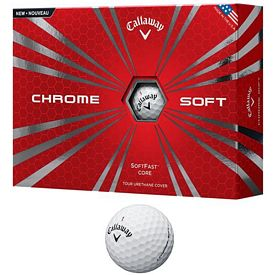 Promotional Callaway Chrome Soft Golf Balls 12-Pack