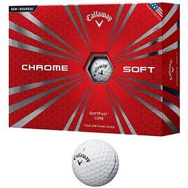 Promotional Callaway Chrome Soft Golf Balls 12-Pack